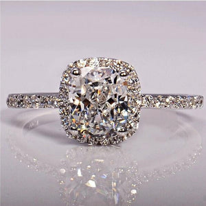 CC Trendy Jewelry S925 Rings For Women Cubic Zirconia