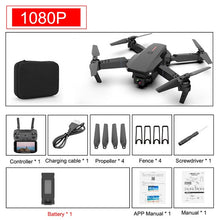 Load image into Gallery viewer, SHAREFUNBAY E88 pro drone 4k HD dual camera visual positioning 1080P WiFi  fpv drone  height preservation rc quadcopter