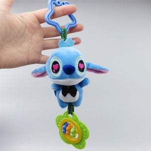 Cartoon stitch elephant donkey plush toys baby rattle Hand Bell Baby Stroller Crib Hanging Rattles Christmas birthday gifts