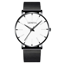 Load image into Gallery viewer, 2020 Minimalist Men's Fashion Ultra Thin Watches Simple Men Business