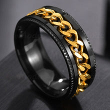 Load image into Gallery viewer, Letdiffery Cool Stainless Steel Rotatable Men Ring High Quality
