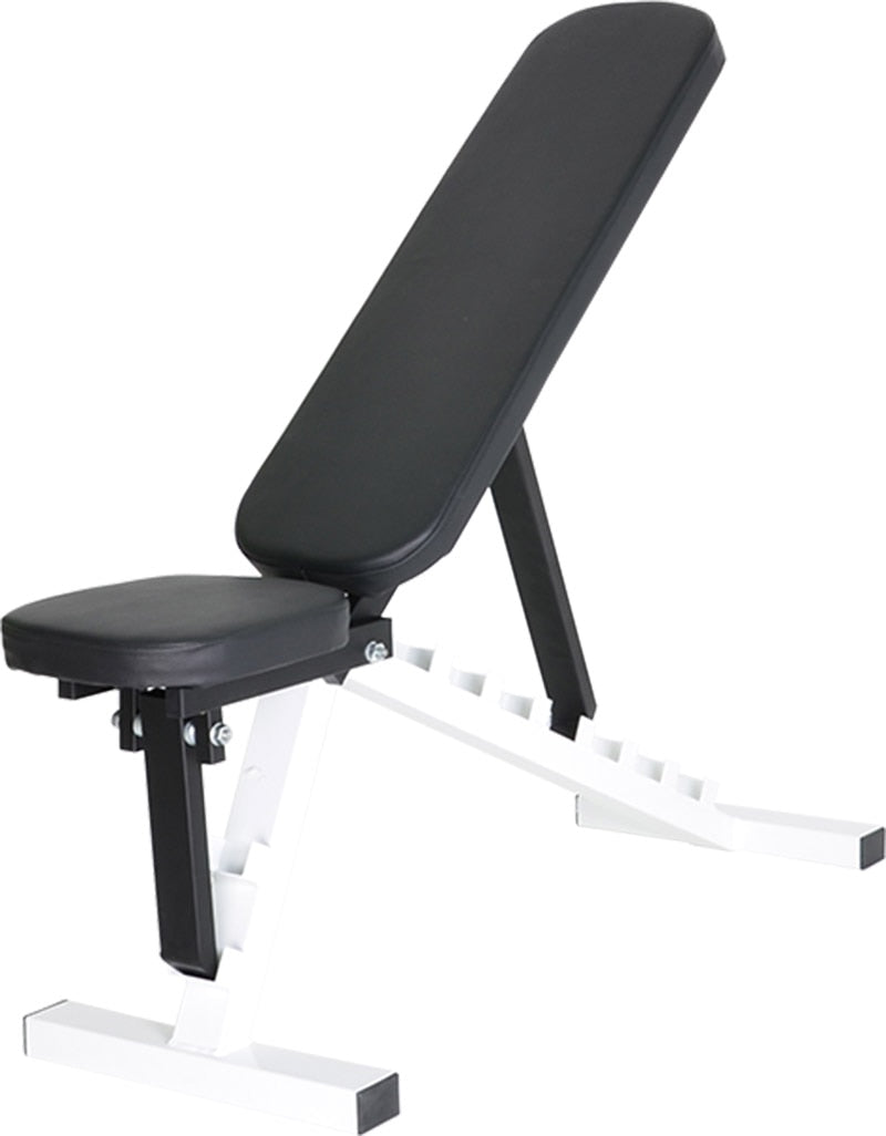 Gym Bench load up 350kg White-Black