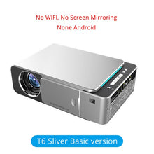 Load image into Gallery viewer, TouYinger T6 Portable HD LED Projector HDMI ( Android Wifi Optional ) Video Beamer Support 4K Full HD 1080p Home Theater Cinema