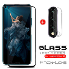 Load image into Gallery viewer, honor 20 pro glass 2-in-1 camera protector for huawei honor 20 glass protective film honor20 хонор 20pro yal-l21 yal-al10 6.26''