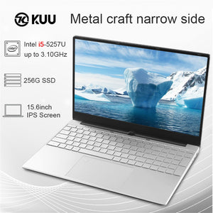 2020 New Arrival 15.6 inch intel i5 5257U Gaming Laptop Metal Body Notebook 8GB RAM 512 GB SSD Backlit Keyboard Fingerprint