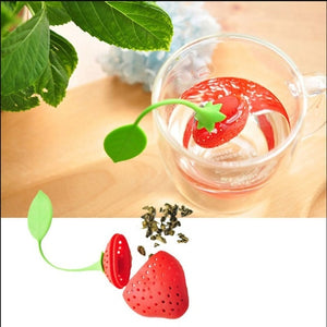 1PCS/5PCS Hot Selling Bag Style Silicone Tea Strainer