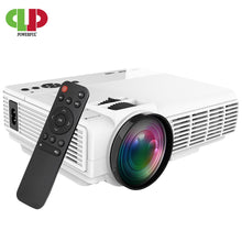 Load image into Gallery viewer, POWERFUL LED Mini Projector 2600Lumens Support 1080P Wireless Sync Display For iPhone/Android Phone Video Beamer for Home Cinema