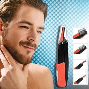 Men Multifunctional Shaver Set LED Light Beard Trimmer