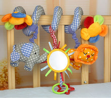 Load image into Gallery viewer, Early Development Soft Infant Crib Bed Stroller Toy