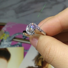 Load image into Gallery viewer, CC Trendy Jewelry S925 Rings For Women Cubic Zirconia
