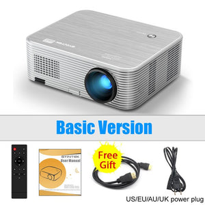 BYINTEK K15 4K 1920x1080P Smart Android Wifi Proyector LED Video Projector Beamer for 3D 4K 300inch Home Cinema Newest 1080p