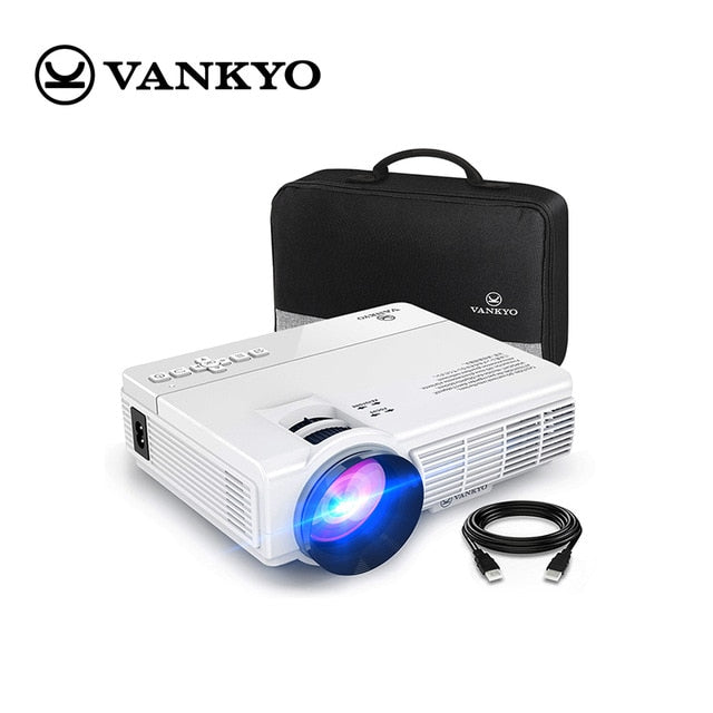 VANKYO LEISURE 3 mini Projector 1920*1080P 170'' Display Portable Projector with 40000 Hrs LED Lamp Life TV Stick PS4 HDMI PK Q5