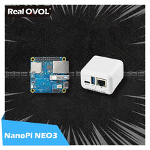 Load image into Gallery viewer, RealQvol FriendlyElec NanoPi NEO3 1GB/2GB DDR4 RK3328 Cortex A53 Quad-core 64-bi Support Ubuntu Core Upgrade of Nanopi NEO2
