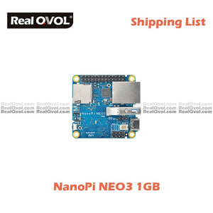 RealQvol FriendlyElec NanoPi NEO3 1GB/2GB DDR4 RK3328 Cortex A53 Quad-core 64-bi Support Ubuntu Core Upgrade of Nanopi NEO2