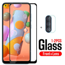 Load image into Gallery viewer, protective glass for samsung a11 screen protector tempered glas on for galaxy a 11 11a safety film samsun samsumg sansung galaxi