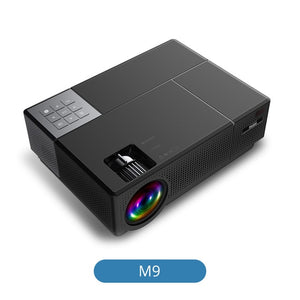 Everycom M9 CL770 Native 1080P Full HD 4K Projector LED Multimedia System Beamer 6800 Lumens HDMI*2 Auto Keystone Home Cinema