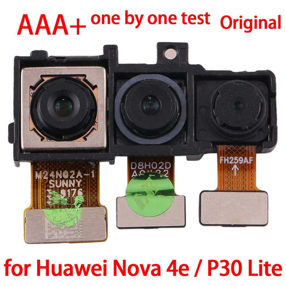 New For Huawei Nova 4e/P30 Lite Back Facing Camera for Huawei Nova 4e / P30 Lite Flex Cable Replacement Repair parts Module