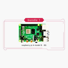 Load image into Gallery viewer, New Original Official Raspberry Pi 4 Model B RAM 2G4G8G 4 Core 1.5Ghz 4K Micro HDMI Pi4B 3 Speed than Raspberr Pi 3B+