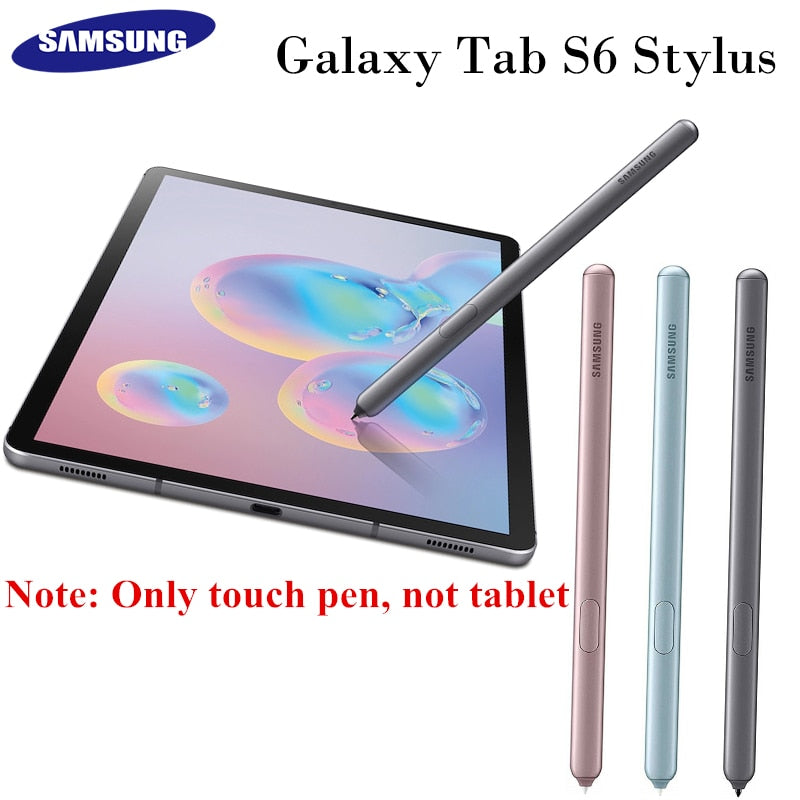 100% Original SAMSUNG Galaxy Tab S6 Stylus For SM-T860 SM-T865 EJ-PT860BJEGUJ Tablet Stylus S Pen Replacement Touch Pen