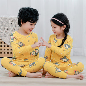 Baby Kids Pajamas Sets Cotton