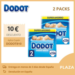 2 Set Dodot Baby Wash Powder