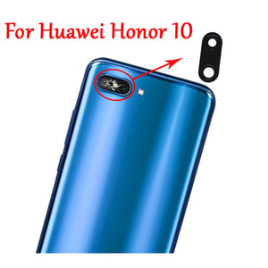 2PC 100% New Original Rear Back Camera Glass Lens Cover with Adhesive For Huawei Honor 10 Fast Ship