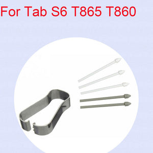 1SET Removal Tweezers Tool Touch Stylus S Pen Nib Tips For Samsung Galaxy Tab S6 T860 T865/S6 Lite 10.4 SM-P610 SM-P615 P610