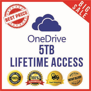 Onedrive 5 TB Lifetime Access