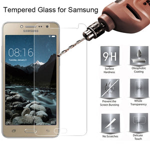 1pcs/2pcs Protective Glass for Samsung J2 Pro 2018 Core Grand Prime 9H Tempered Glass Screen Protector Film for Samsung J1 Mini