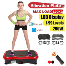 Load image into Gallery viewer, 120KG Max Bearing Exercise Fitness Slim Vibration Machine