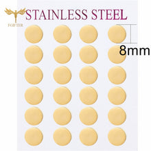 Load image into Gallery viewer, Minimalist Stud Earrings For Men Women Gold 304 Steel Earring 12 Pairs Earrings Jewelry Set