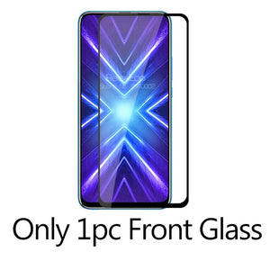 2-in-1 Camera Tempered Glass For huawei honor 9x STK-LX1 premium Protective Glass on honor 9 x x9 honor9x screen protector Film