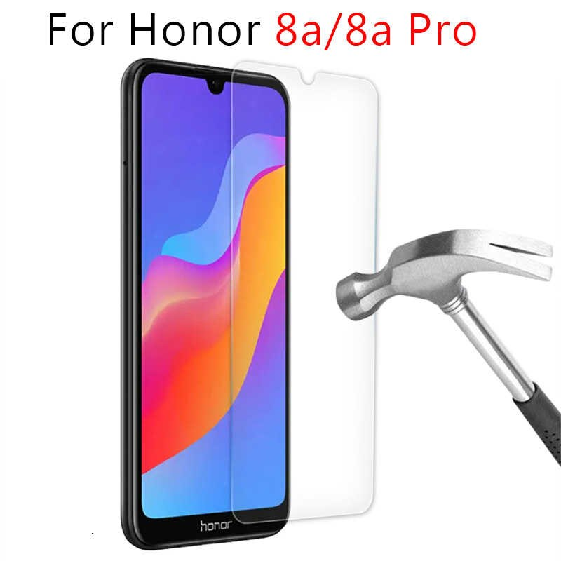 9H Tempered Glass on the For Huawei Honor 8A Pro 8C 8X Max 8S Screen Protector Honor 20 P40 Pro Lite EProtective Glass Film Case