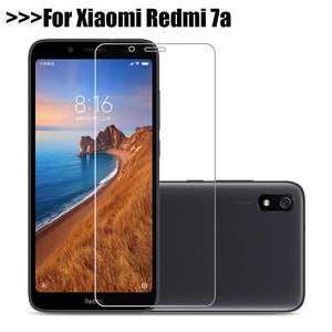 1~2Pcs 9H protective glass For Xiaomi Redmi 7A redmi 7a screen protector glass film on redmi7a redmi 7 a 5.45' Tempered Glass