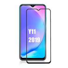Load image into Gallery viewer, 2in1 Full cover screen protector For vivo Y11 2019 Tempered Glass Camera Lens glass For Vivo y11 vivo y 11 Y 11 Protective Film