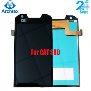 For Caterpillar CAT S60 Original LCD Display and  Touch Screen Digitizer Assembly +Tools 4.7 inch 1280x720P