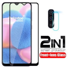 Load image into Gallery viewer, 2 in 1 Camera Tempered Glass For samsung Galaxy a30s a30 s a 30s a307 a307F SM-A307F lens screen protector protective Film cover
