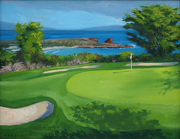 2nd Hole, Challenge At Manele