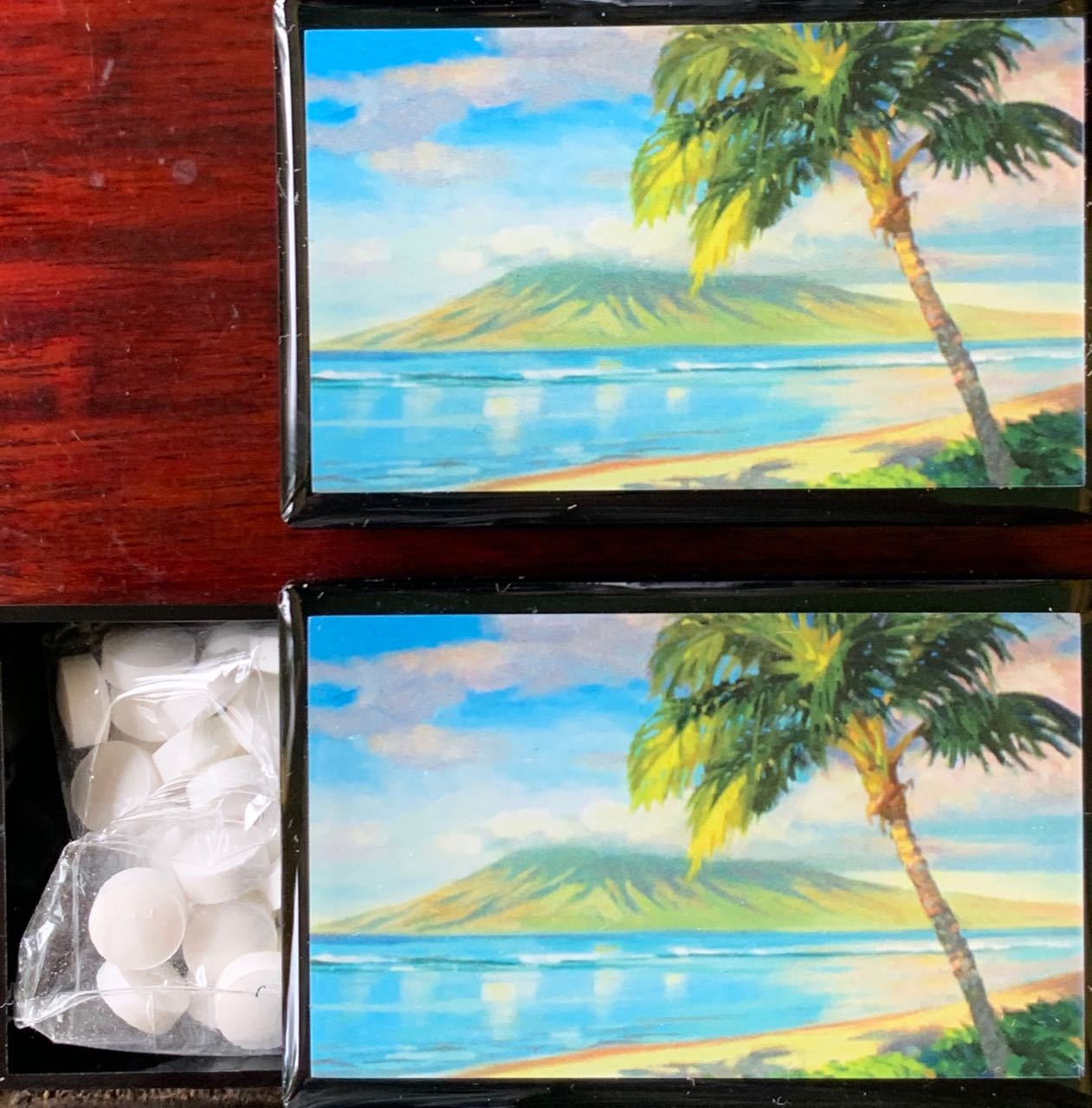 Mini Mint Slide Box: Lanai Sunrise