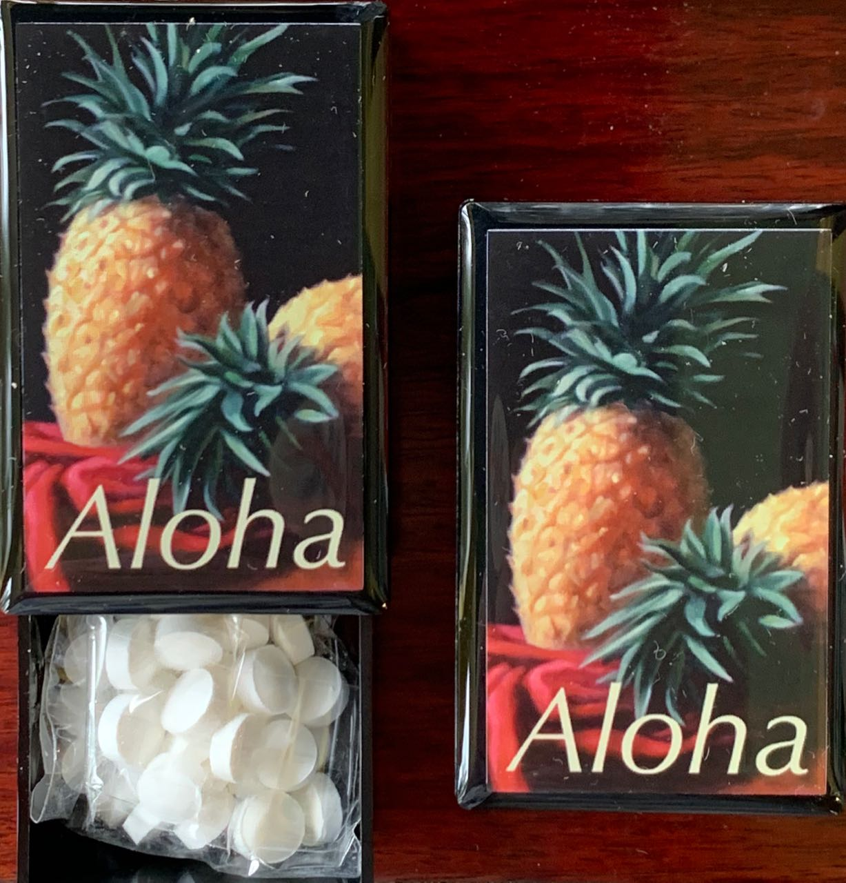 Mini Mint Slide Box: Aloha Pineapple