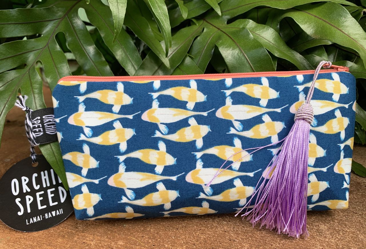 "Cory Lovejoy: ""Monet's Koi"" Clutch"
