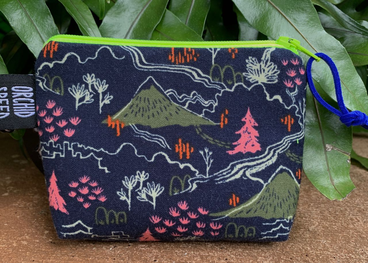 "Cory Lovejoy: ""Neon, Neon Pine"" Clutch"
