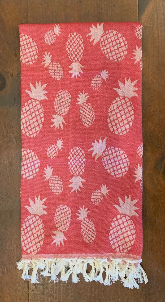 Peshtemals: Red Pineapples