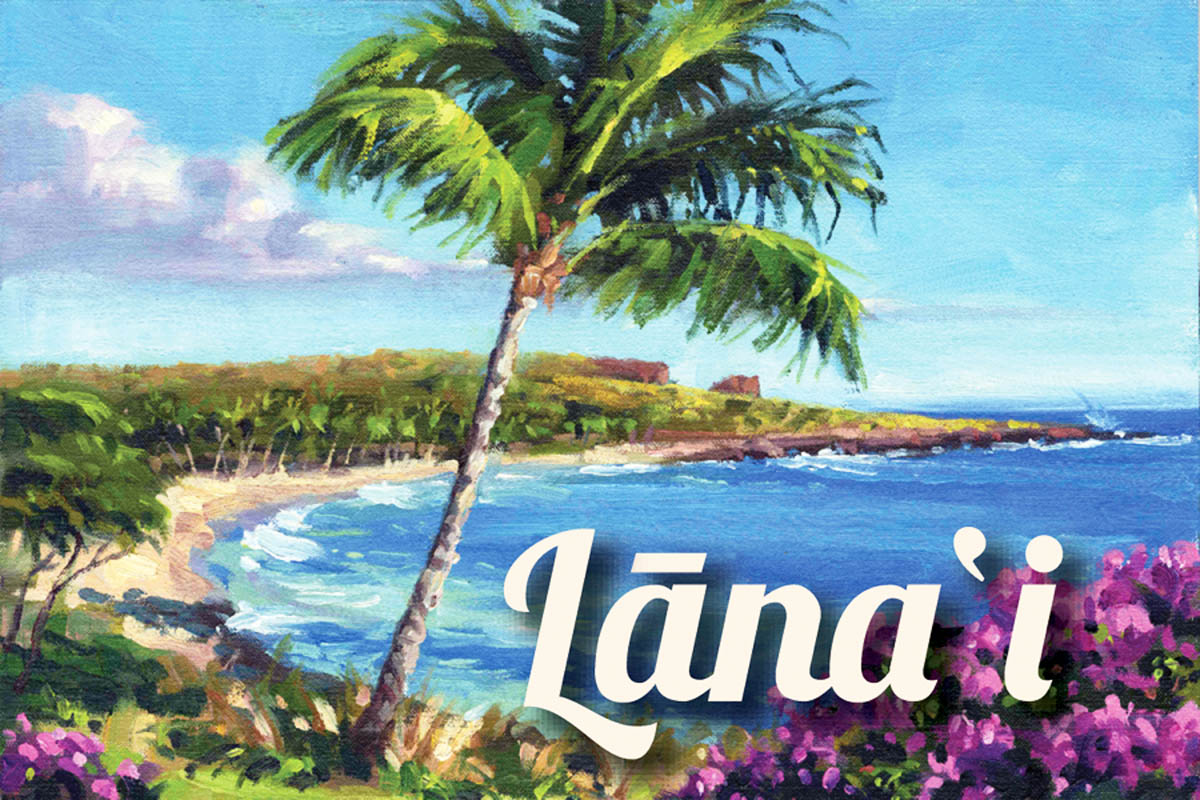 "Magnet: Colors By The Bay ""Lana`i"""