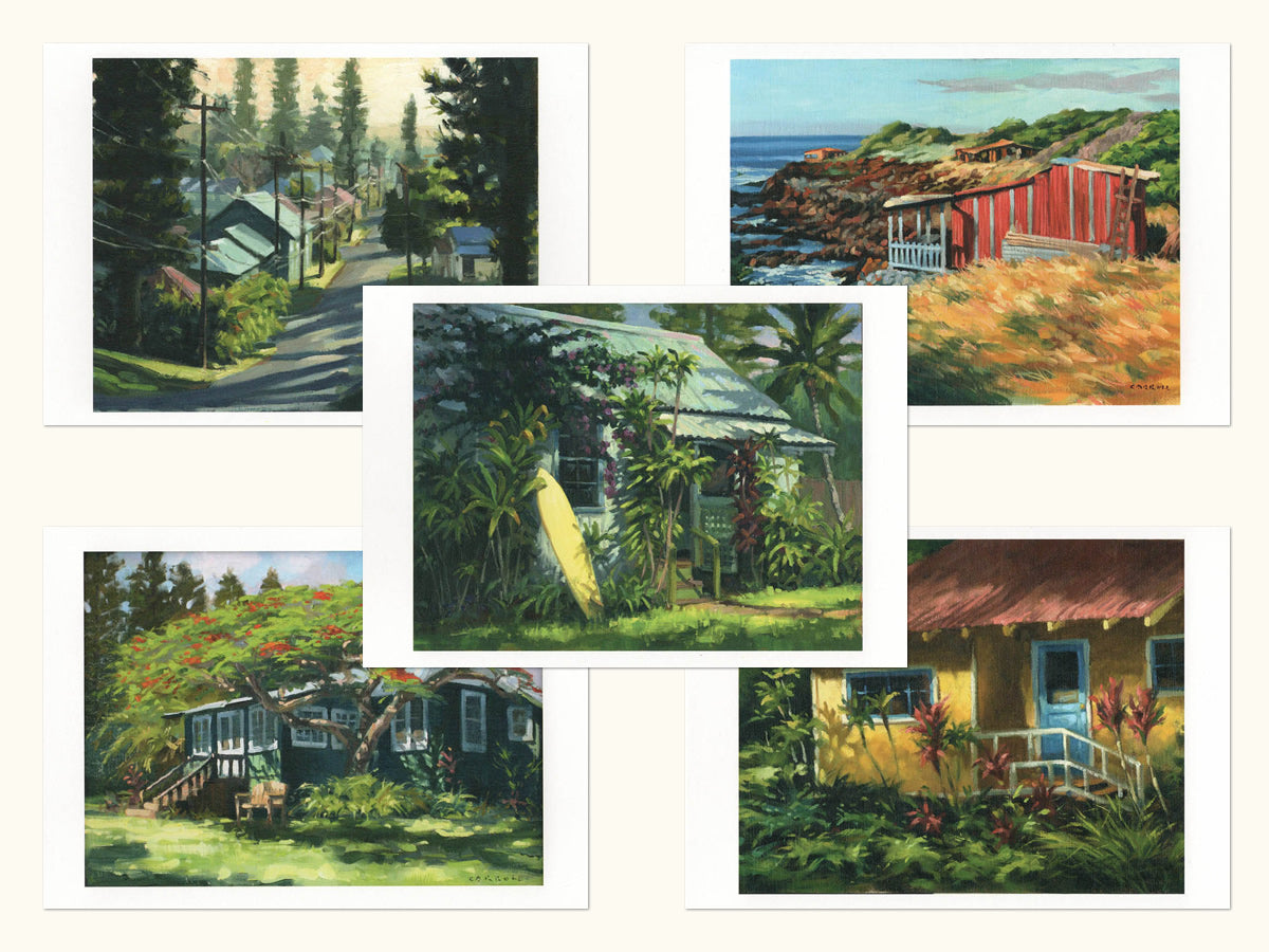 Note Cards: Lana'i Plantation Homes