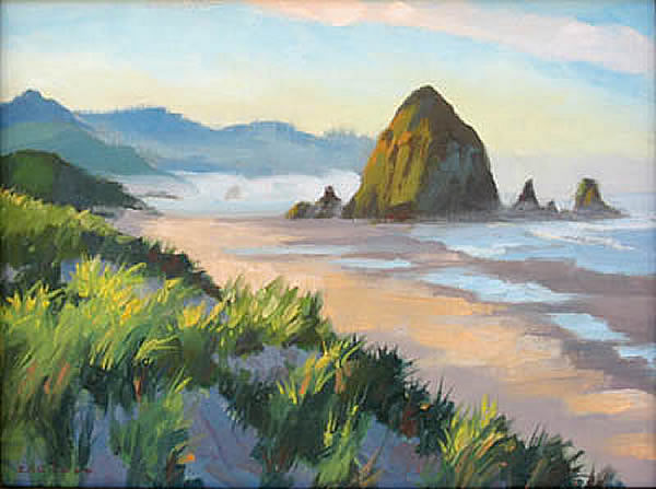 Dawn, Cannon Beach