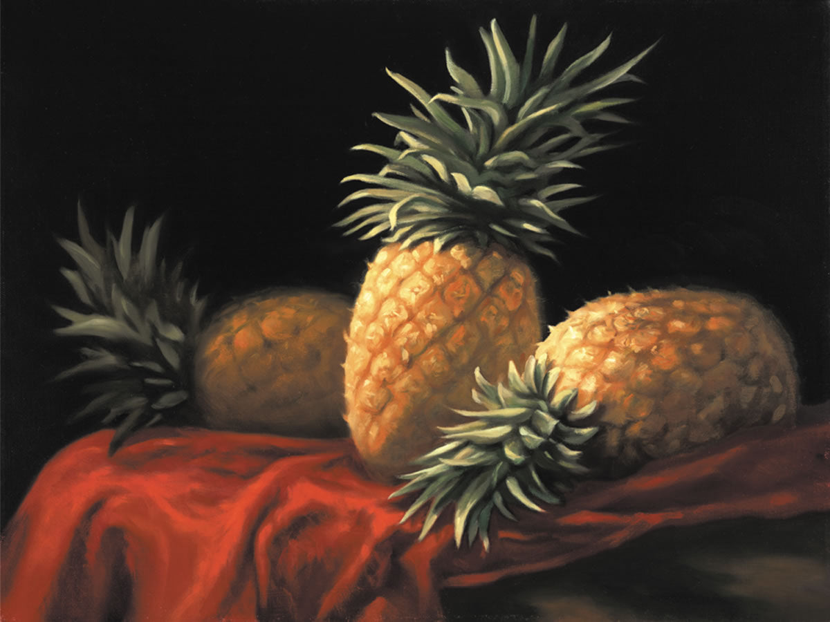 Three Pineapples (LE)