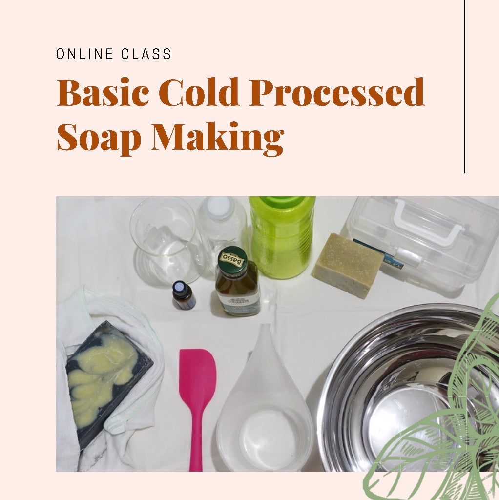 Basic Cold Processed Soap Making (Online)
