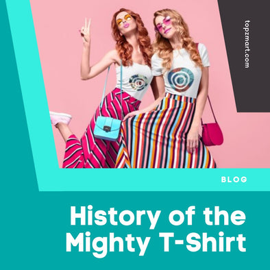 A Brief History of The Mighty T-Shirt
