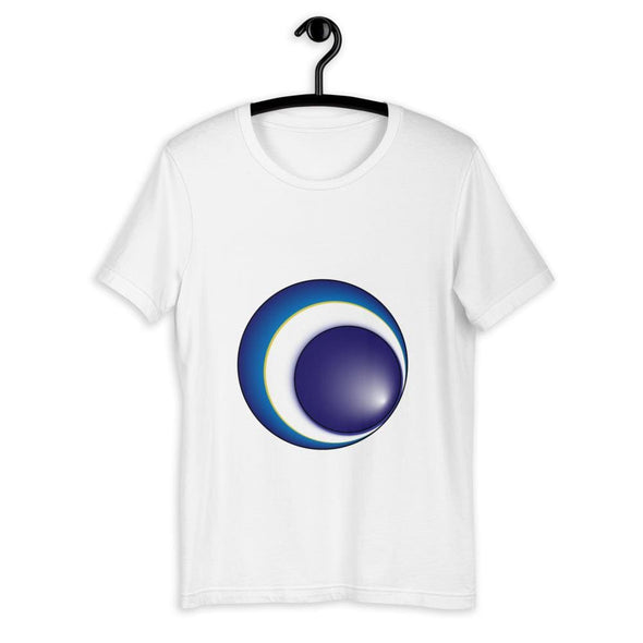 Blue Eclipse Design on Women's T-Shirt - T-shirts